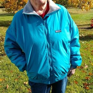 Patagonia Turquoise Jacket hoodless size 12